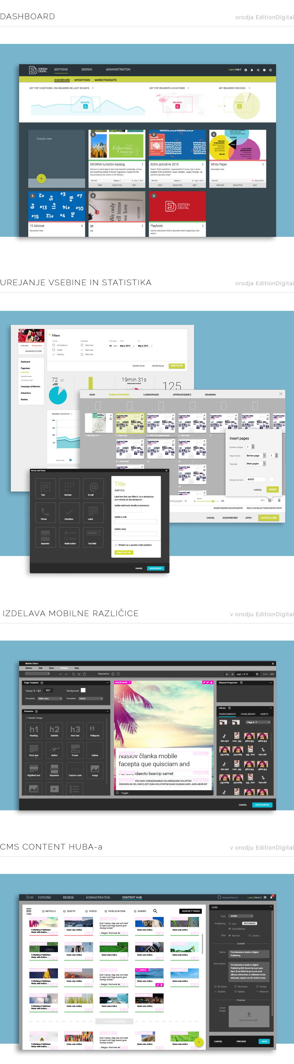 Edition Digital oblikovanje backenda