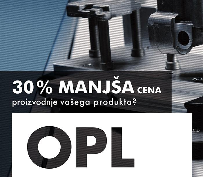Izdelava oglasa OPL avtomatizacije Lepa reč