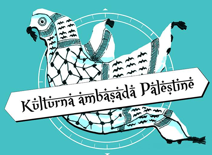 Oblikovanje plakata Kulturna ambasada Palestine Lepa reč