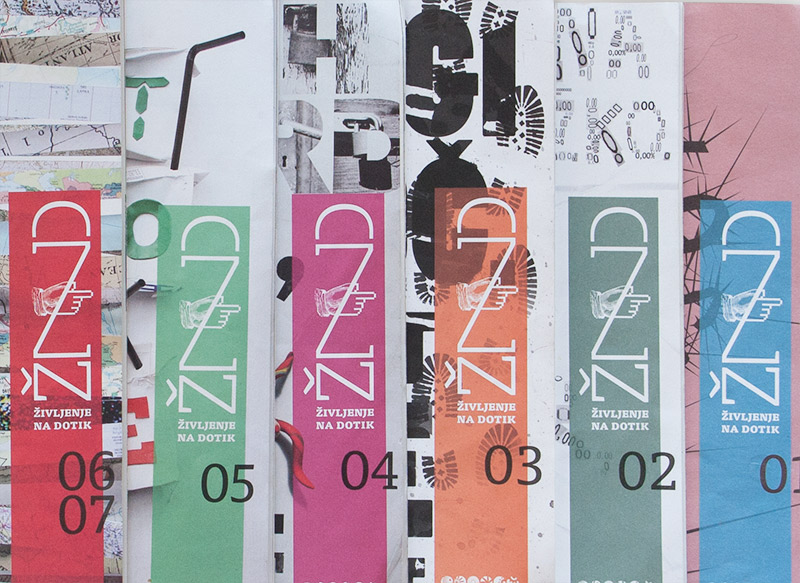 ŽND maribor 2012 naslovnice dtp revije lepa rec