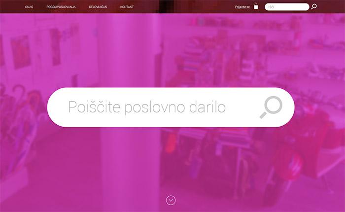 Izdelava spletne trgovine Pamp Lepa reč