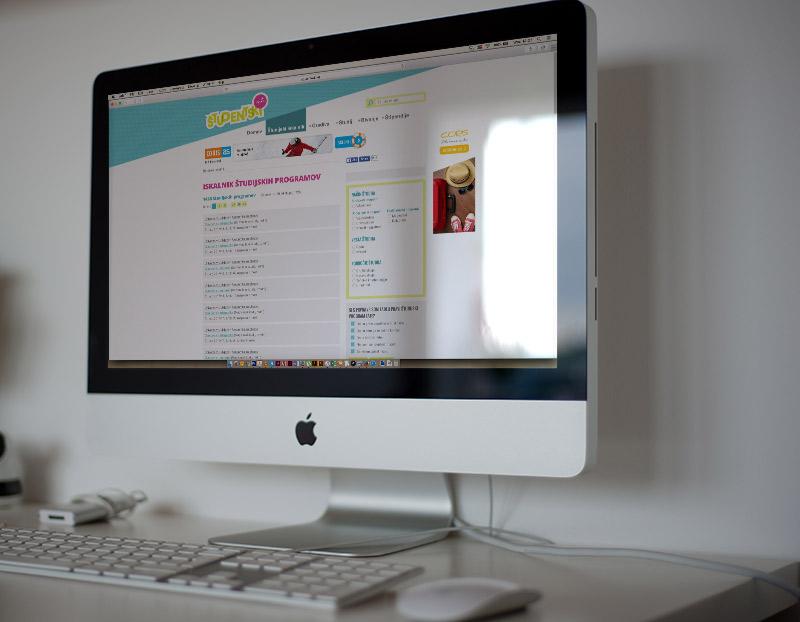 Študentski net izdelava spletne strani Lepa rec